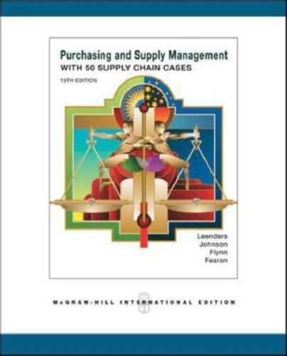 Purchasing Supply Management purchasing supply management 9780071249669 slugbooks