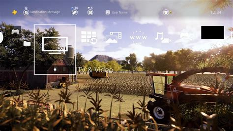 ps4 themes in australia real farm theme and avatar bundle on ps4 official