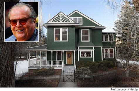 just jack house music house of the day jack nicholson s a list aspen mansion aol finance