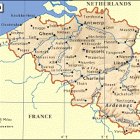 printable map brussels printable map of belgium printable maps