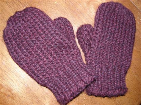 loom knit mittens mitten knitting patterns a knitting