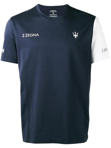 maserati shirts z zegna maserati t shirt in blue for lyst