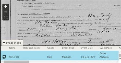 Jefferson County Al Marriage Records 17 Best Images About Ford Family Genealogy Alabama On Alabama