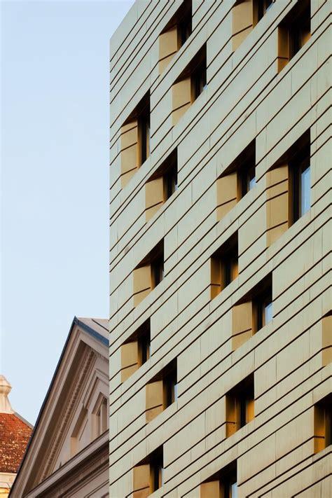 Horizontale Fassade by Gerichtsgeb 228 Ude Und Vorplatz In St P 246 Lten Fassade