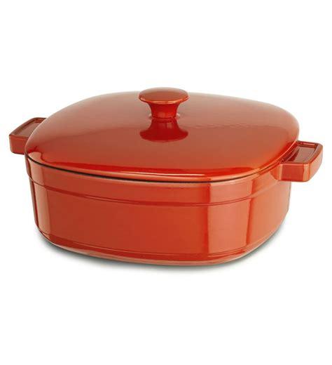 kitchen aid cast iron 3 qt casserole dish ebay