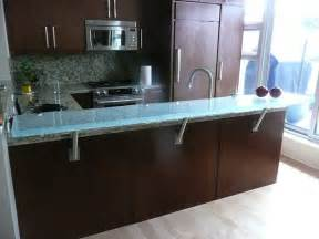 Kitchen Island With Granite Top And Breakfast Bar Raised Glass Countertop Overview Cgd Glass Countertops