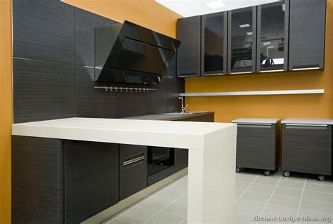 Modern Grey Kitchen Cabinets by Pictures Of Kitchens Modern Gray Kitchen Cabinets