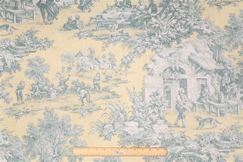 toile drapery fabric portfolio scenic toile printed cotton drapery fabric