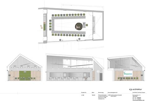 Floor Plan Of A Room Gallery Of Conference And Coaching Center Stollhof Cp