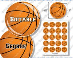 Name Tag Necklace Editable Jpg Images Basketball Boy Ball 1 837 Quot Circles For 1 5 Quot Button Maker Basketball