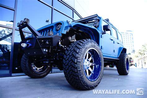 2014 Sema Starwood Motors Blue Vpr Jeep Jk Wrangler Unlimited