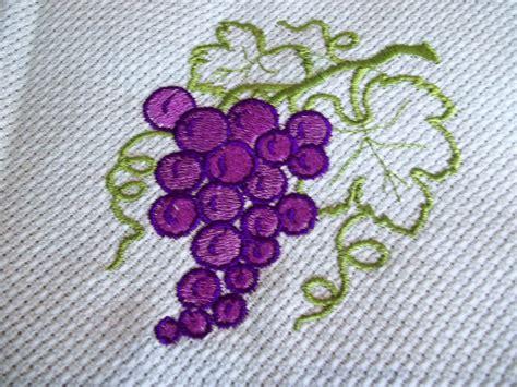 imagenes de uvas para bordar matriz cacho de uvas pes macram 233 e bordados bordados