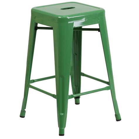 green bar stools ireland flash furniture 24 in green bar stool ch3132024gn the
