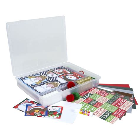 buy childrens kids christmas card making set kids card