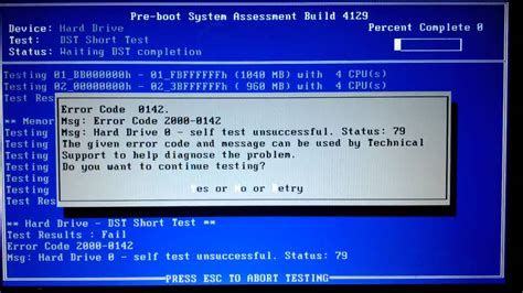 airbnb error failed to find processor dell n5010 bad drive diagnostic results youtube