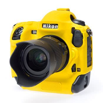 easy cover camera case  for nikon d4s yellow ln63632
