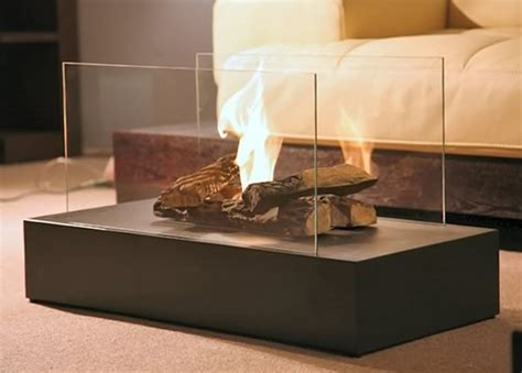 modern fire 5 piece ceramic faux log set for ethanol and