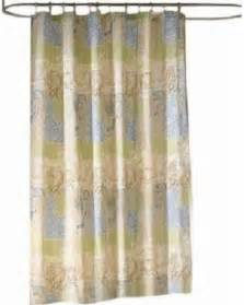 Curtains 24 Inches Long Kohl S Bayside Fabric Shower Curtain Ocean Nature Tropical