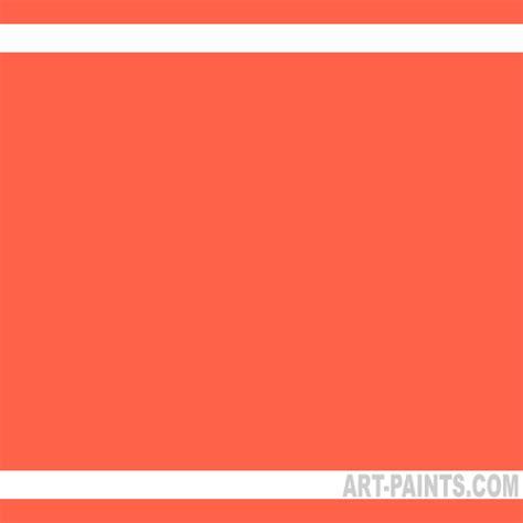 fluorescent light orange flashe vinyl gouache paints 232 fluorescent light orange paint
