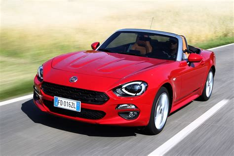 Fiat 124 Spider   Convertible   SuperCars.net