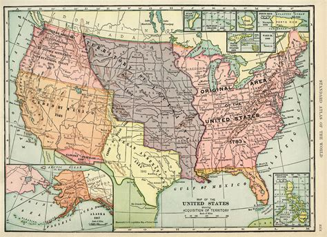number of states in usa history united states map vintage map antique map
