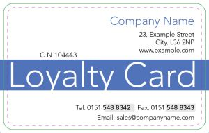 smart loyalty card system $49 | business in the black