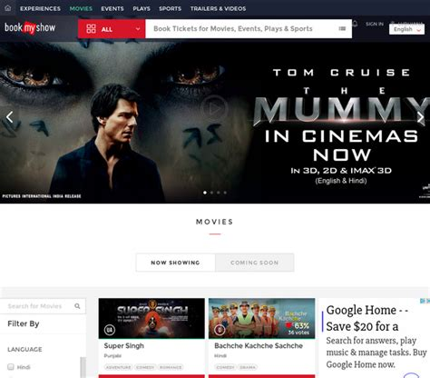 bookmyshow usa ludhiana movie tickets online booking showtimes near you