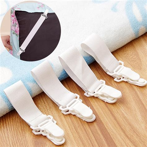 Blanket Holder For Bed Aliexpress Buy 4pcs Bed Sheet Mattress Blankets Elastic Holder Bed Fastener Gripper Clip