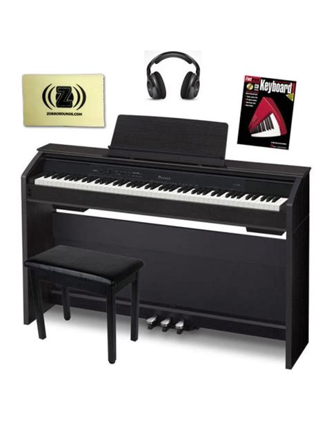 casio piano bench casio privia px850 black digital piano bundle with bench