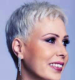 pixie grey hair styles short hairstyles and cuts the grey haired pixie