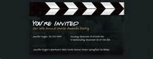 image gallery movie premiere invitation
