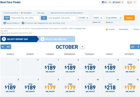 Jetblue Deal Calendar The Flight Deal How To Search For The Best Jetblue Fares
