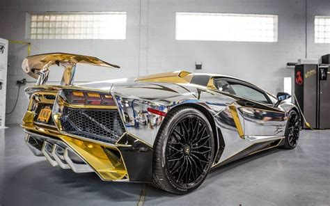 10 Best Images About Lamborghini Gold Silver Chrome