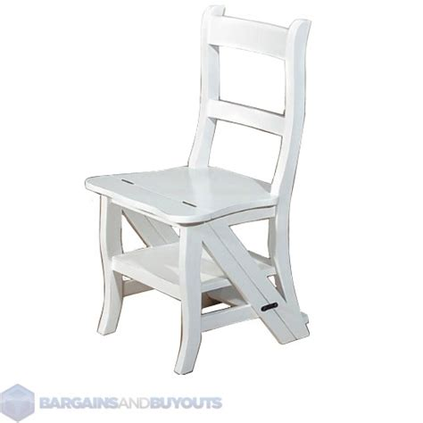 Franklin Chair by Franklin Multi Purpose Chair Step Stool White 8545400 Ebay