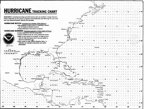 Printable Hurricane Tracking Chart