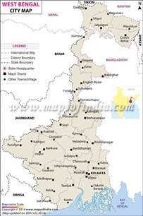 cities of west bengal