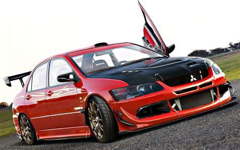 mitsubishi red red mitsubishi lancer car wallpapers