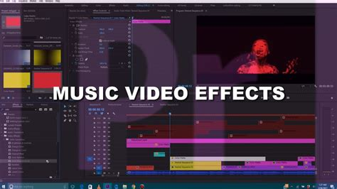 tutorial adobe premiere effects music video breakdown effects tutorial adobe premiere