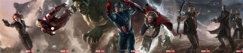 dual monitor wallpaper captain america the avengers wallpaper and background 2560x564 id 148102