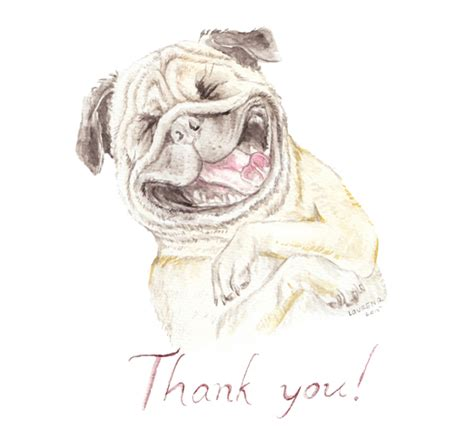pug saying thank you thank you pug free for everyone ecards greeting cards 123 greetings