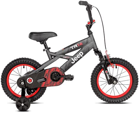 jeep bike 14 inch boy s jeep bicycle with working suspension and