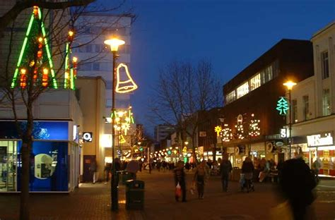 slough s christmas lights turned on thursday 26th november
