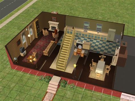 Free Log Home Floor Plans mod the sims wallace and gromit s house 62 west