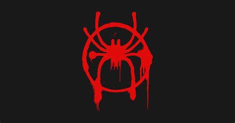 spider man   spider verse spray paint logo