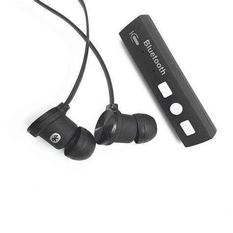 Headset Earphone Hk new bluetooth wireless stereo earphone headset headphone receiver universal us