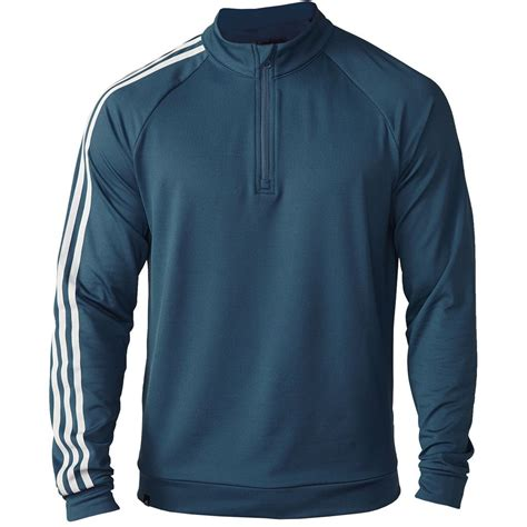 Jaket Zipper Anoixi Orginal 8 adidas 3 stripe 1 4 zip fleece jacket golf cover up mens sweater ebay