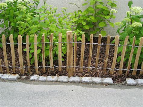terrasse 50 cm hoch staketenzaun kastanie 50 cm hoch holzzaun gartenzaun