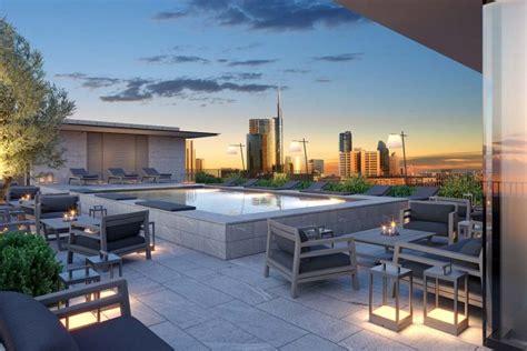 hotel terrazze terrazza a 5 stelle all hotel viu milan living corriere