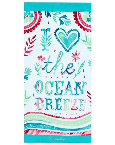 Florida Home Designs cool and colorful beach towels beach bliss living