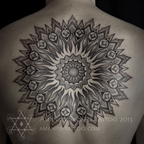 mandala sun tattoo 2016 040 sun mandala mandala of the day